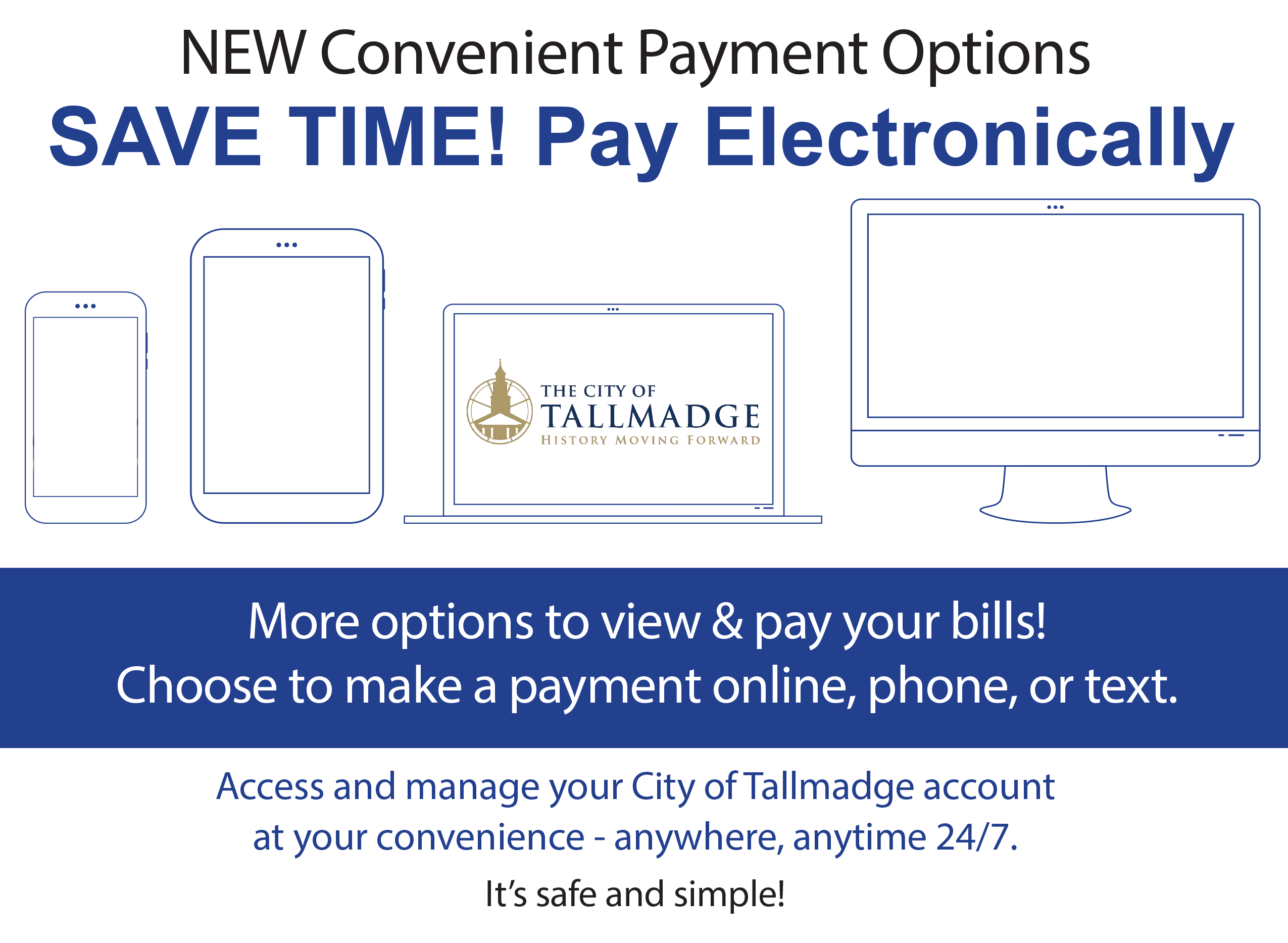 New Online Payment Options